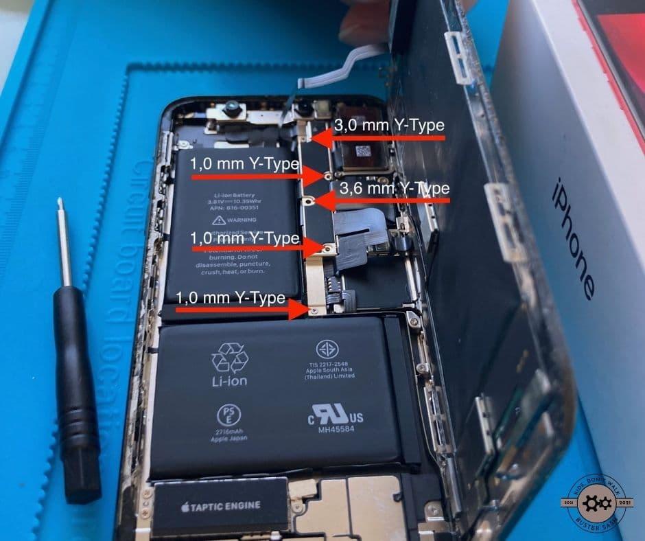 Abdeckung Displayconnectoren