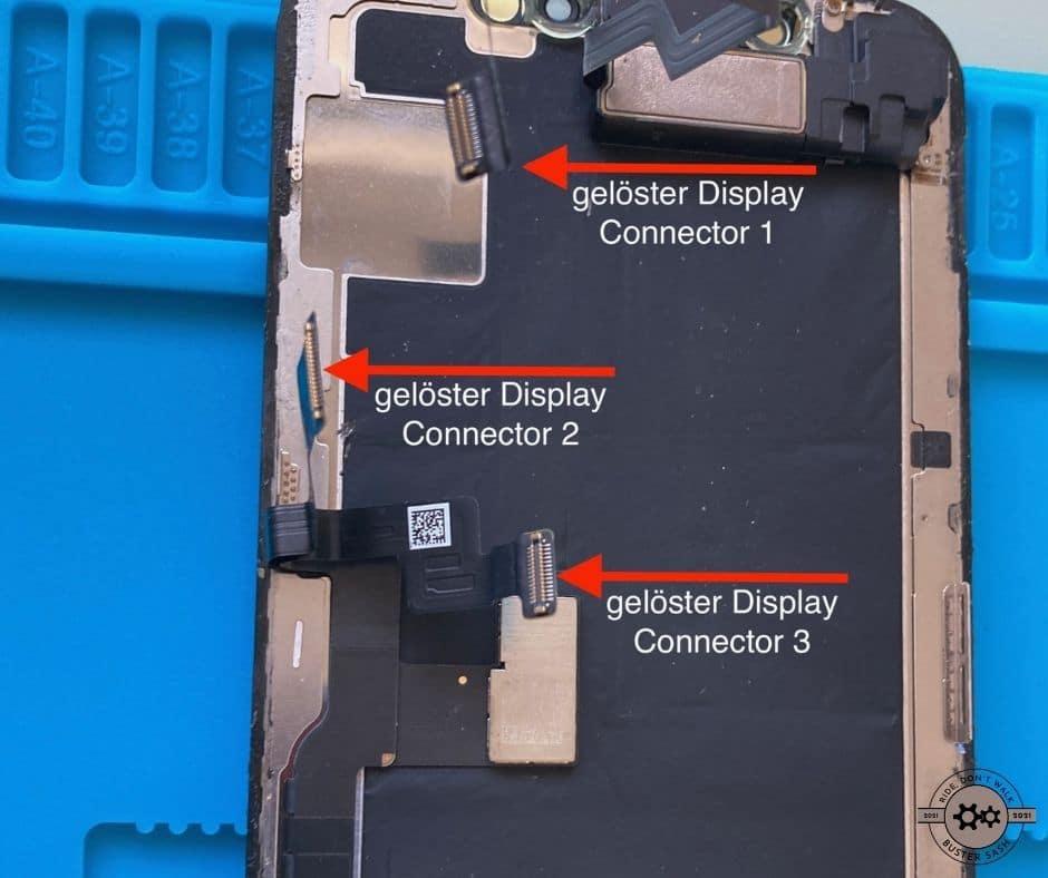 Display Connectoren Anschlüsse